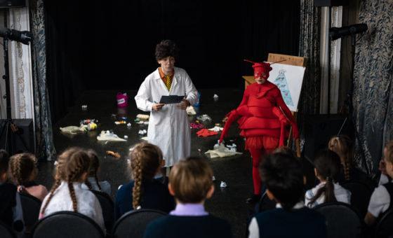 В Няганском театре юного зрителя стартовала экологическая неделя