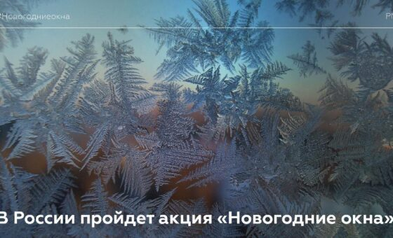Всероссийская акция «Новогодние окна»